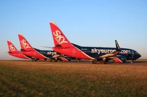 Smutný pohled na odstavená letadla 1.9.2009