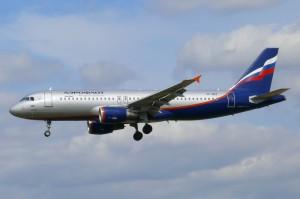 Airbus 320, Aeroflot