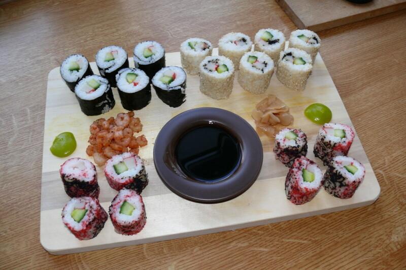 Sushi ala Bob