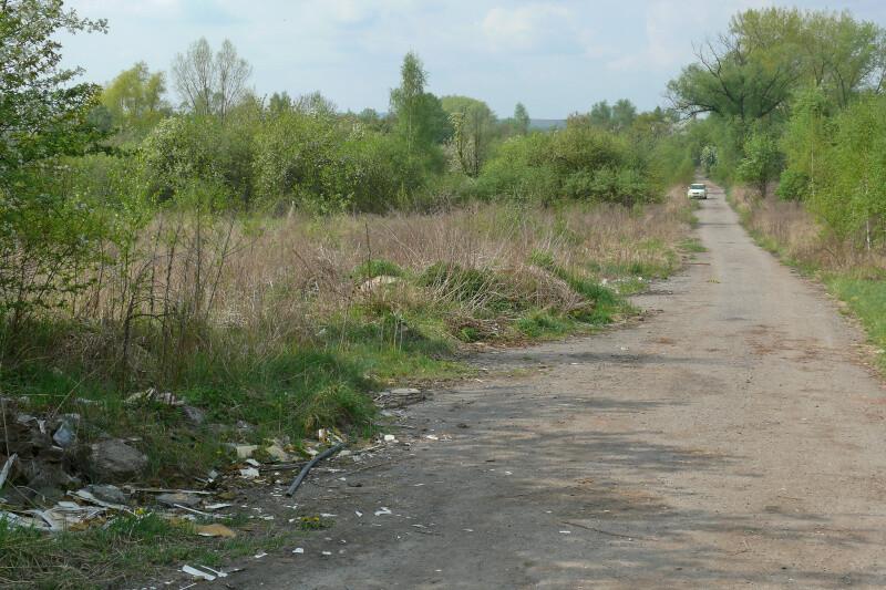 Pohled z Vinohrad do Školní ulice