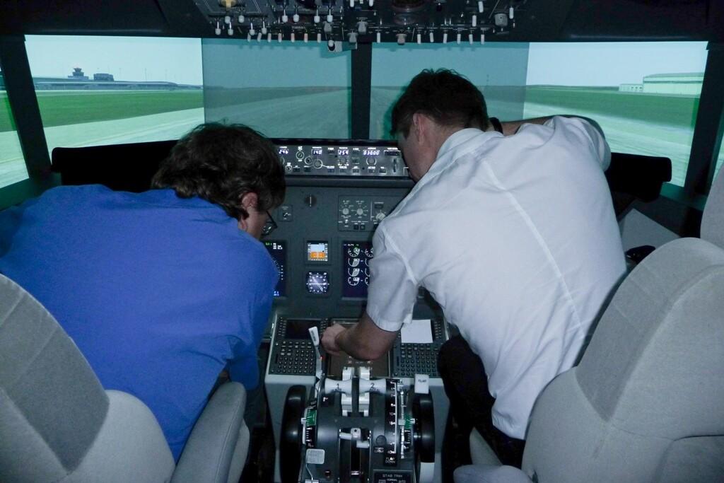 Plánování letu na Ruzyni