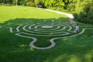 Labyrint na zámku Loučeň