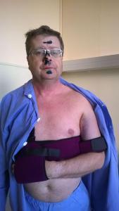 Takhle jsem nastupoval do nemocnice