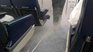 Kouř v kabině